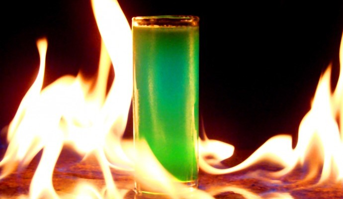 Flaming Shot