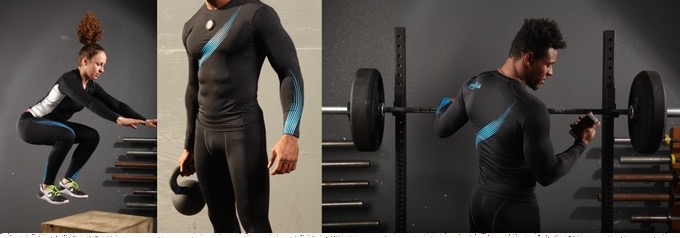 The Enflux Exercise Clothing: Real-time 3D Analysis