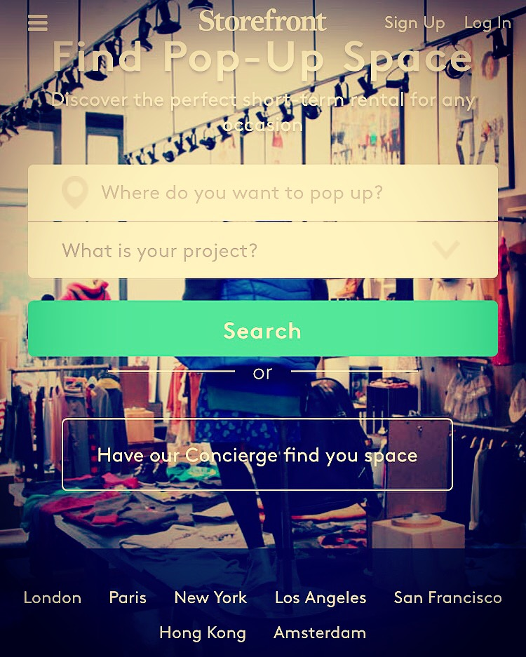 A  Startup Provides You On Demand Retail Space or Pop Up Shop For Your Need