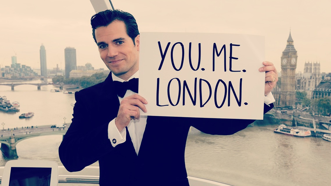 15 Days Left – Support The Royal Marines Charity and Have a Champagne Toast with Henry Cavill in a private capsule on the Coca Cola London Eye.