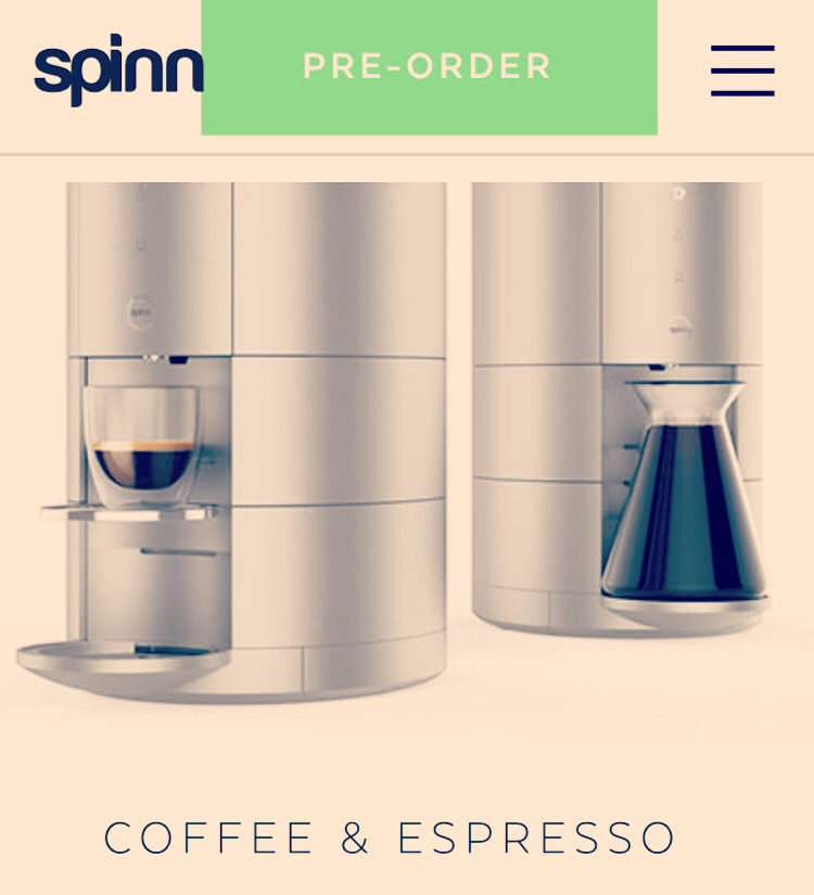 New Coffee Machine with Multi-Patented Centrifugal Brewing Technology