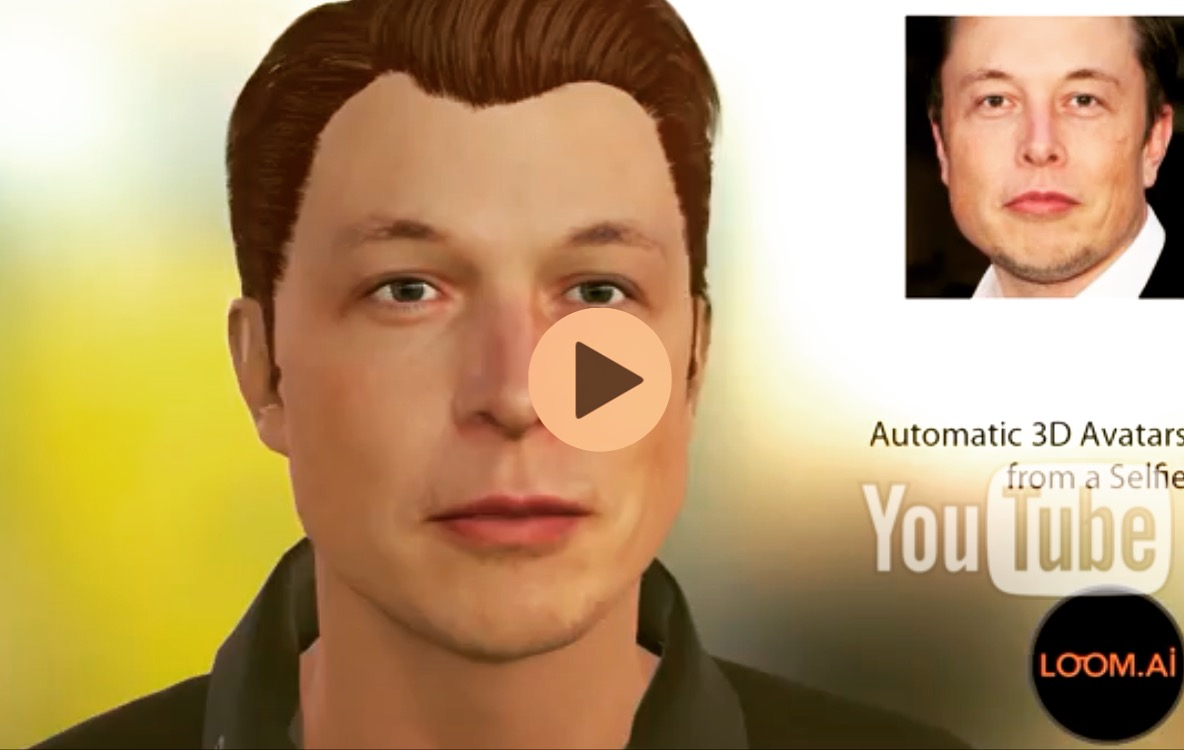 Bringing Virtual Communications to Life Via PERSONALIZED 3D AVATAR API from Photographs