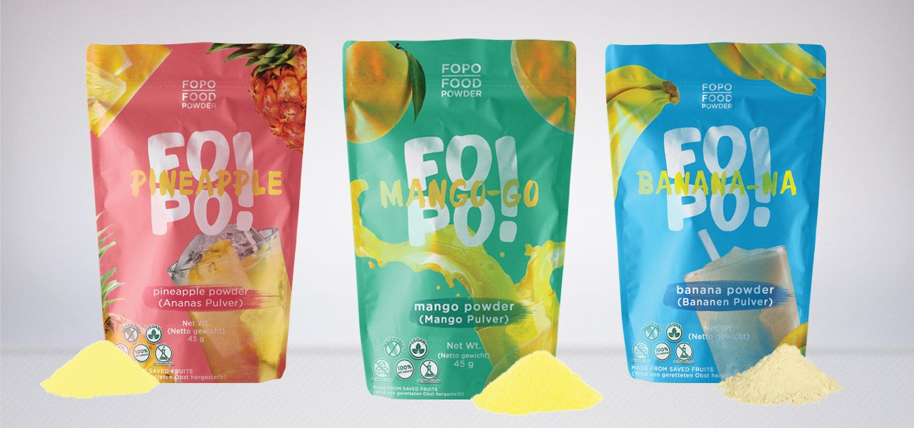 FoPo Helps to End Food Waste While Saving Food that Transforms Into Something Deliciously of Natural Fruit Powder