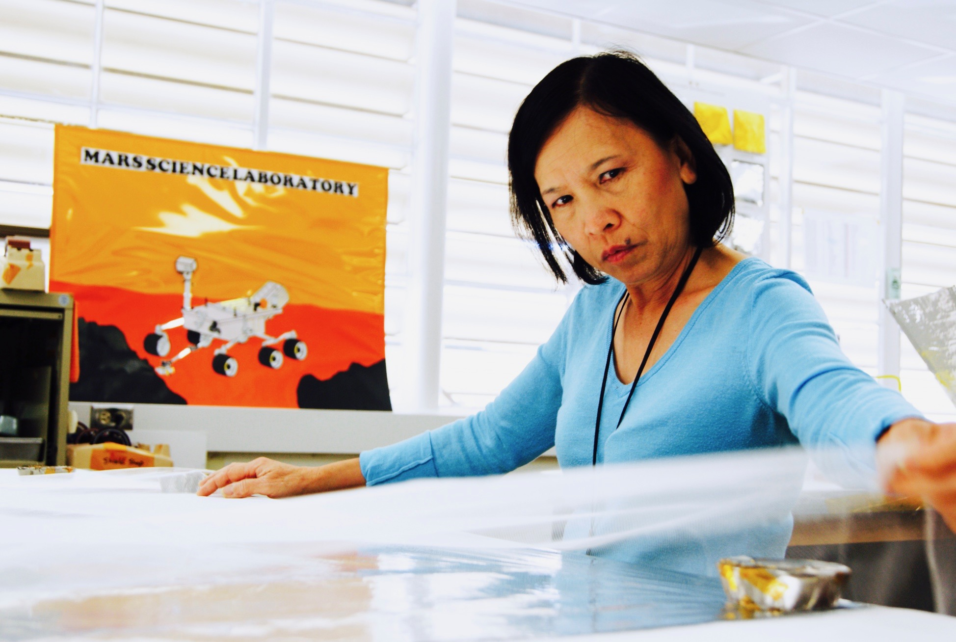A Vietnamese American 'Spacecraft Dressmaker' works at JPL for 16 years