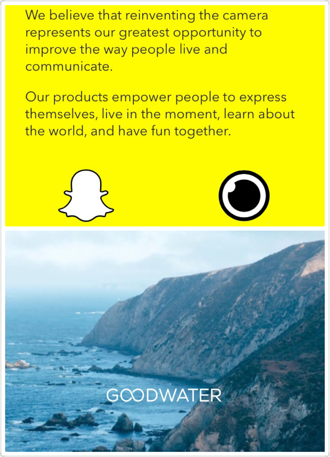Goldwater Capital just produced one of the first detailed equity research reports on Snap Inc.