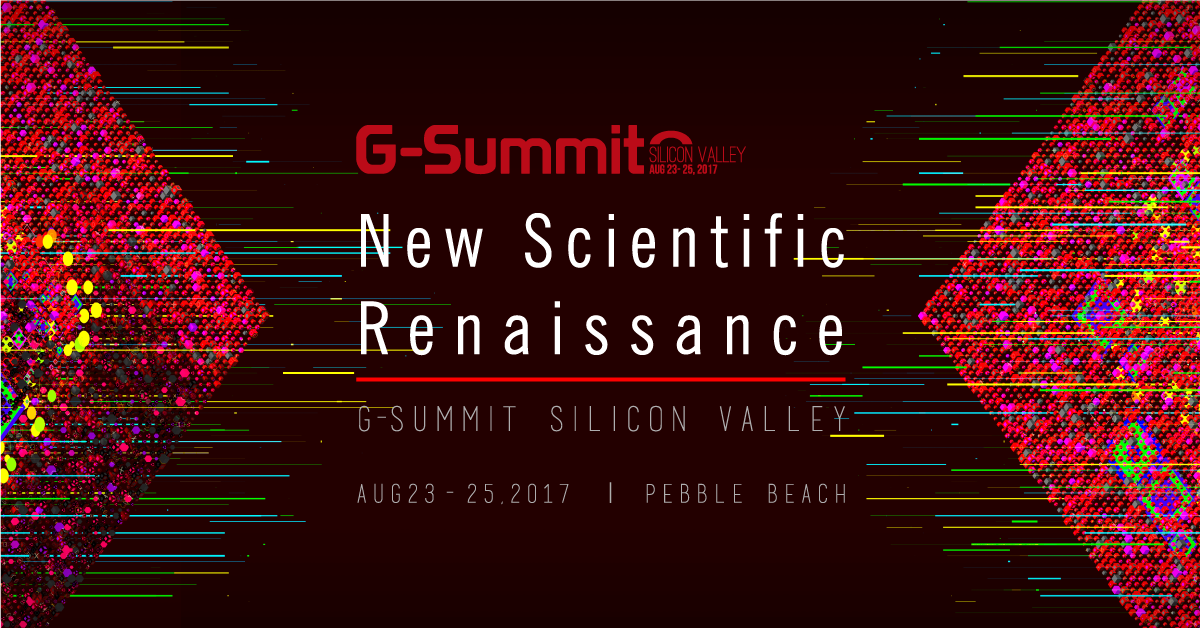 G-Summit in Pebble Beach on August 23-25th, 2017!