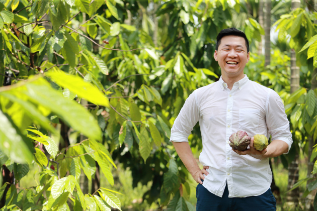 Fu Wan Chocolate CEO Warren Hsu (Photo by Chientong Wang)