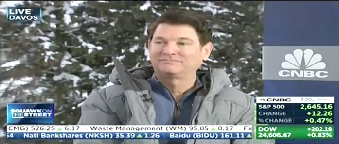 Exclusively Interview With Jim Breyer the Founder and CEO of Breyer Capital on LIVE Davos 2019 – The World Economic Forum in Davos, Switzerland