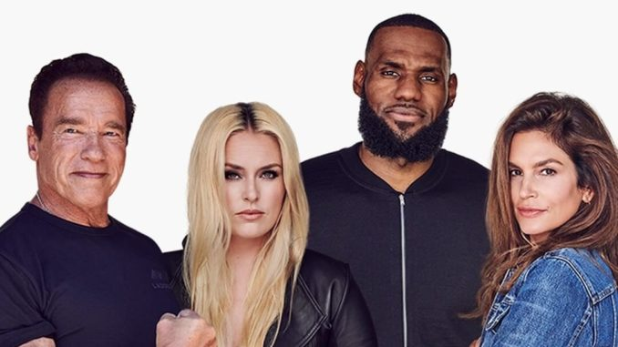 Lebron_cindy_schwarz-Cropped-LeBron James, Cindy Crawford, Arnold Schwarzenegger, and Lindsey Vonn launch a wellness company | Image:Ladderjpg